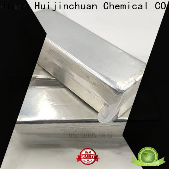 Huijinchuan Chemical powder in ingots high pure tin ingot food grade for chemical