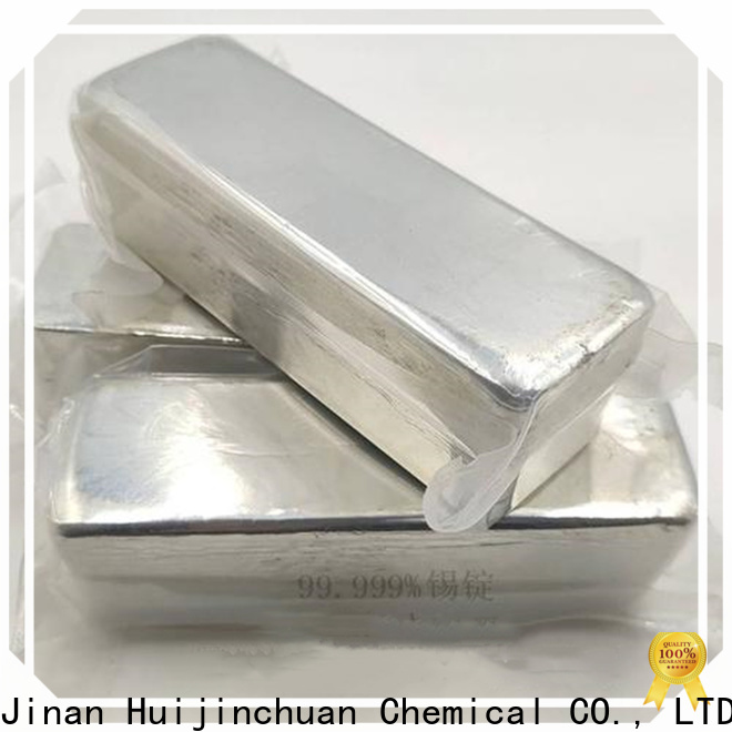 Huijinchuan Chemical pure Tin ingots price for food