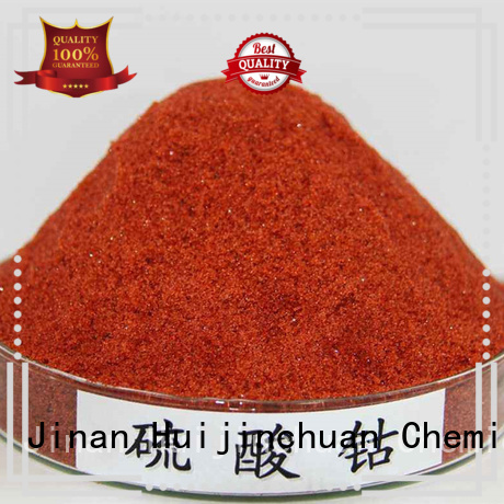 Huijinchuan Chemical white Cobalt Sulfate supplier for industrial